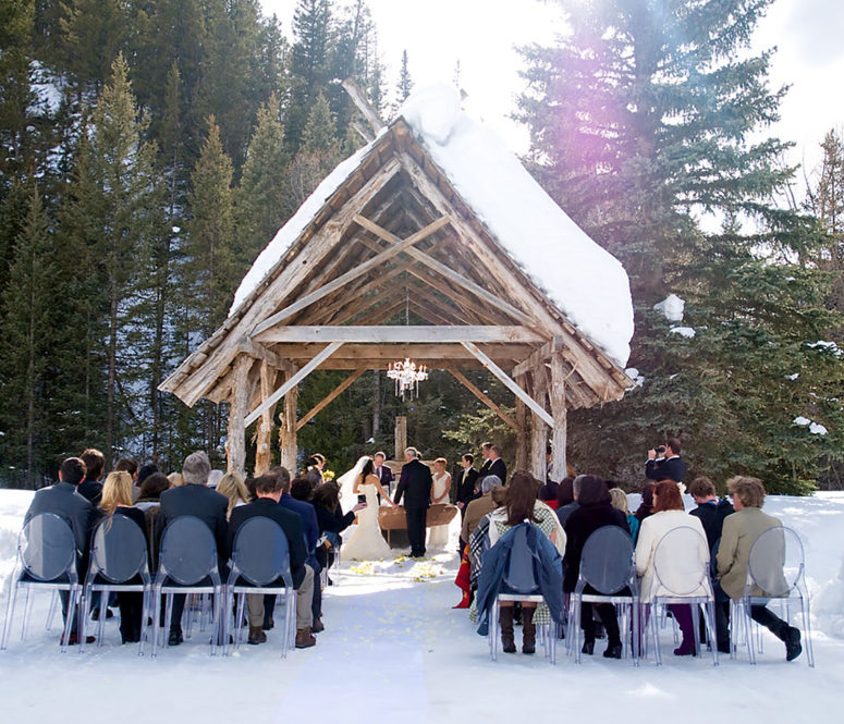 Dunton winter wedding