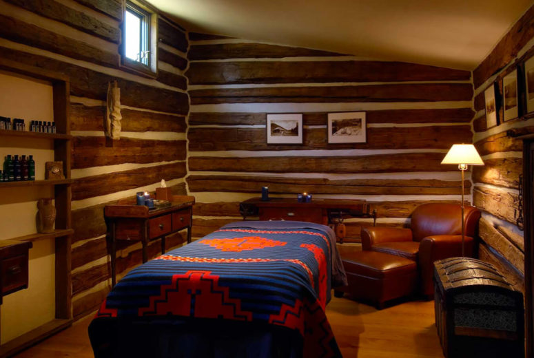 Pony express spa cabin