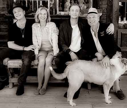 Paul, Katrin, Johannes & Christoph